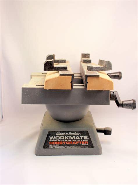 black decker hobbycrafter workmate bench top vice