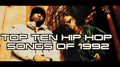 The song, which was created for the bad boys ii film soundtrack, earned best rap performance by a duo or group at the 2004 grammy awards. TOP TEN HIP HOP SONGS OF 1992 - YouTube