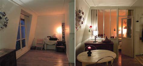 chambre en réaménager 2 chambres en enfilade