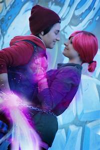 Delsin and Fetch Neon by AngelShadou on DeviantArt