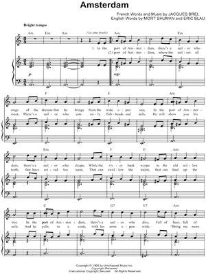 jacques brel mort shuman partitions musicales 224 imprimer