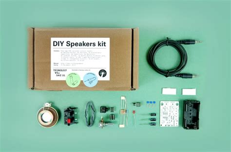 technology  save  diy speaker kit aktiver