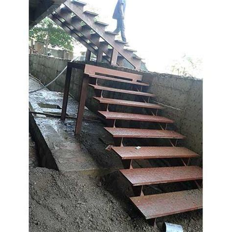 ms stairs residential mild steel staircase manufacturer