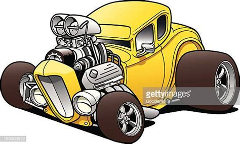 hot rod car stock illustrations  cartoons getty images