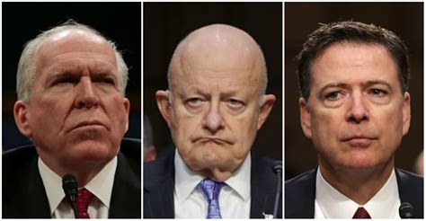 Image result for clapper brenna comey spies