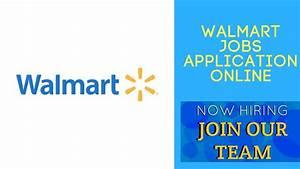 Walmart Jobs Application Online