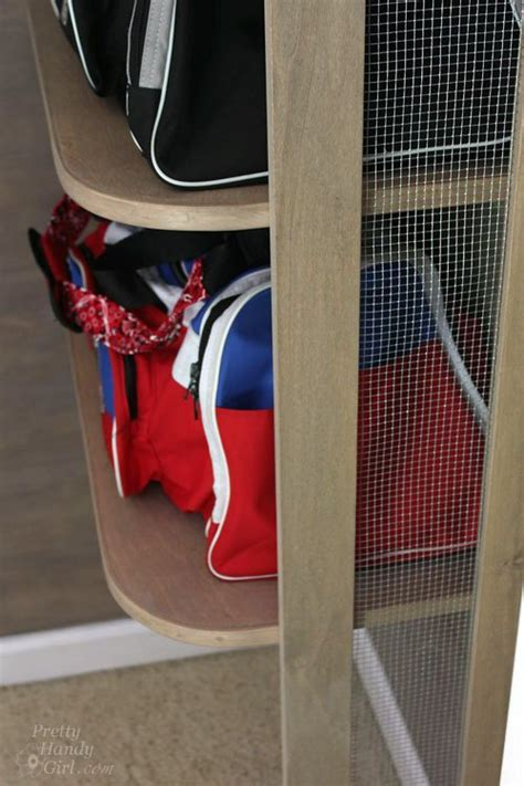 hometalk sports gear storage  small space verticalspace