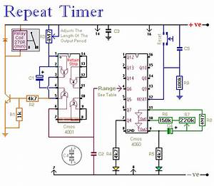 Repeat Timer Circuit Diagram