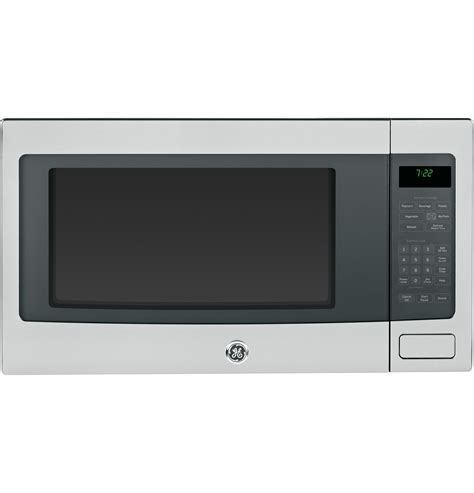 ge profile series  cu ft countertop microwave oven pebsfss ge appliances