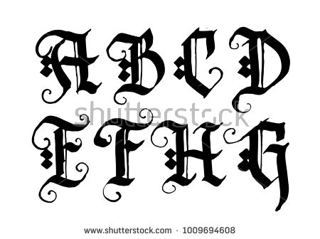 decorative letter b 89 different styles of lettering fonts different 15692