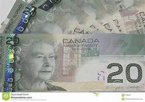 Canadian $20 Bills Royalty Free Stock Images - Image: 279629