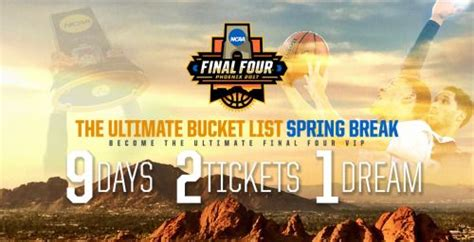 {AZ} 1x entry 03/12/17 The NCAA Final Four is a weekend ...