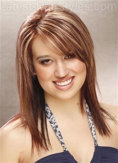 25 modern medium length haircuts with bangs layers for