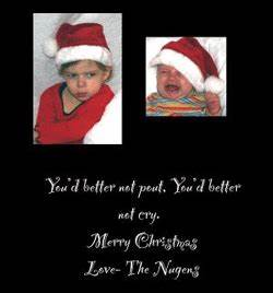 Funny Baby Christmas Card Ideas – Happy Holidays