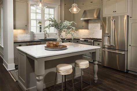 khaki cabinets transitional kitchen palmetto bluff