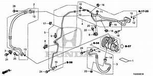 Accord Sedan   Pipe Assy   Air Conditioner
