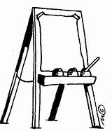 Easel Clipart Clip Painting Canvas Cartoon Cliparts Artist Paint Library Clipartbest Sounds Right Apinting Sculptor sketch template