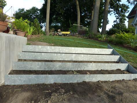 Galvanized Metal Walls Garden  Still Waiting For Rhode
