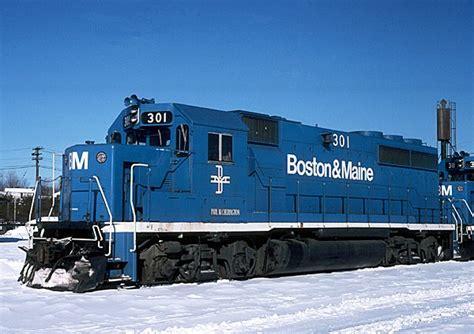 Boston& Maine GP40-2 Index