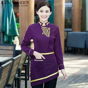 Restaurant waitress uniforms women men chinese restaurant ...