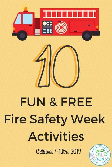 fun   fire safety week activities  child fun