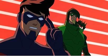 Batman Unlimited Nightwing Arrow Monster Mayhem Clip