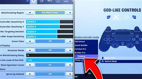 fortnite console settings season   psxbox
