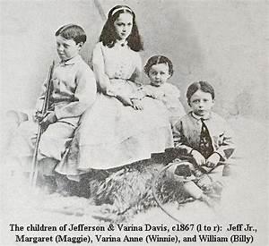 Varina Howell Davis Children