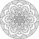 Mandala Coloring Pages Getcoloringpages Sheets Watermark Printables Visit sketch template