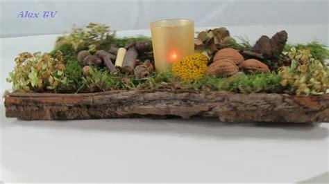 weihnachtsgestecke aus naturmaterialien herbstdeko selber machen einfach und schnell