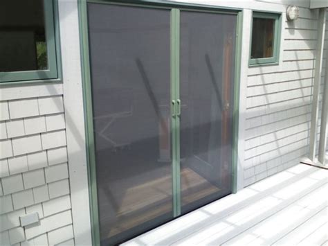 Masonite Patio Door Screen Kit by Retractable Screen Door Broadview Screen