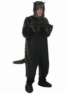 Adult Black Dog Costume