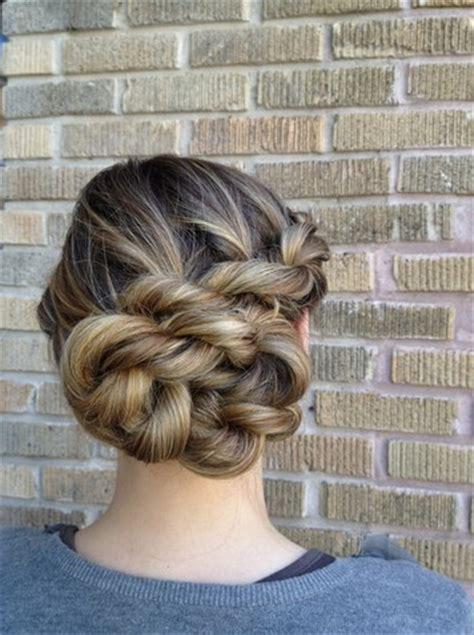 glowing rope braid hairstyles pretty designs