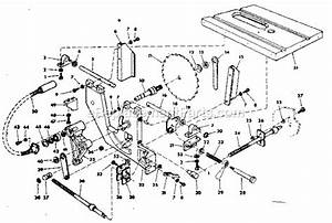 Craftsman 113241680 Parts List And Diagram