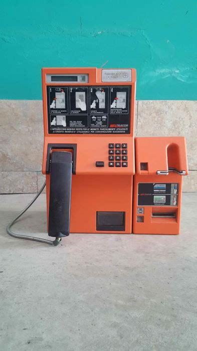 telefono  schede telecom cabina telefonica catawiki