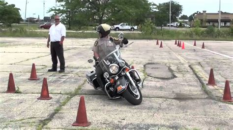 Motorcycle Police Training