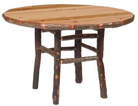 hickory 42 quot standard dining table from fireside