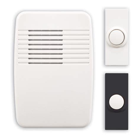 wireless door bells shop utilitech white wireless doorbell kit at lowes