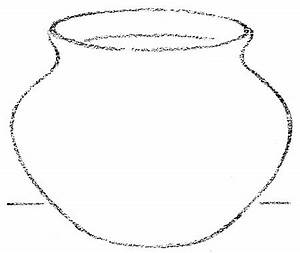 Clay Pot Outline - ClipArt Best