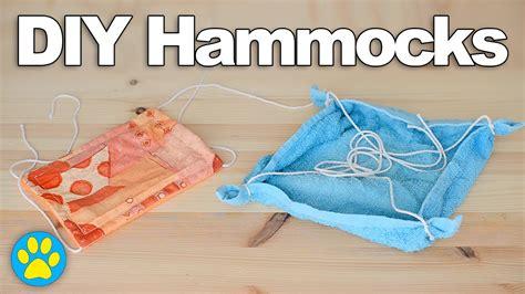 Hamster Hammock by 2 Diy Hamster Hammocks Diyjuly 16