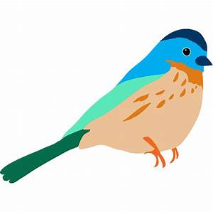 Colorful Bird Clipart