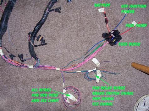 1995 Chevrolet Camaro Wiring Harnes by 1995 Impala Ss Caprice Roadmaster Wire Harness Info