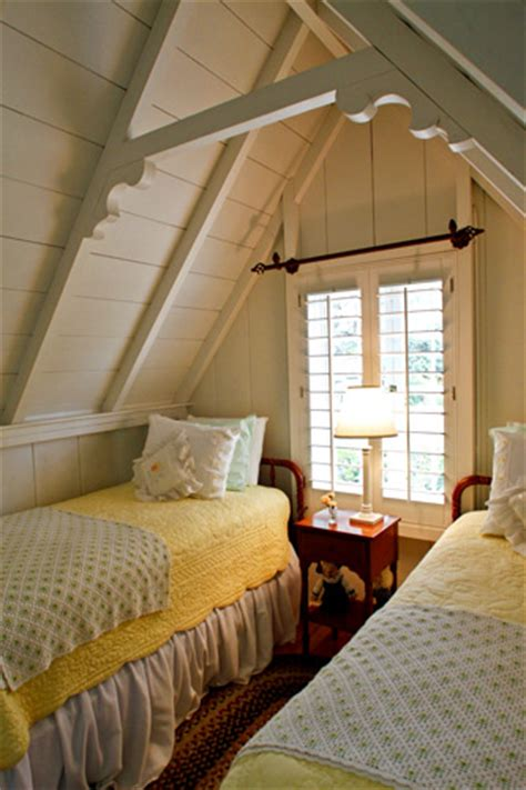 attic guest room cottage living moody cottages garden home party
