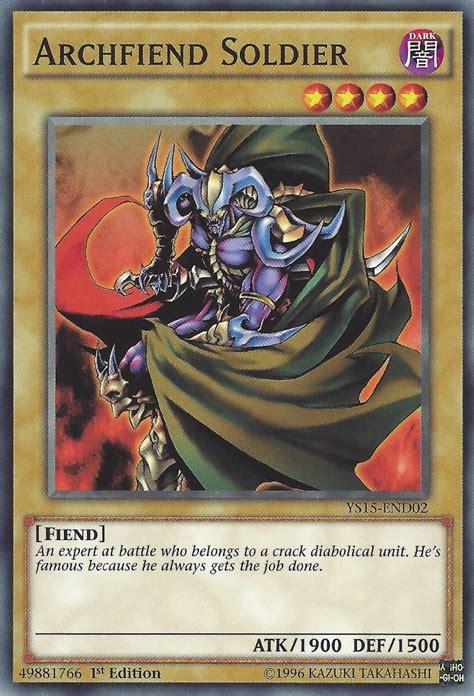 archfiend soldier yugioh fiend card yu gi oh wikia ygo level wiki types expert atk 1900