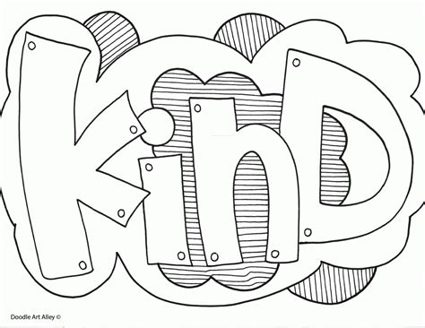 doodle art alley  quotes coloring pages coloring home