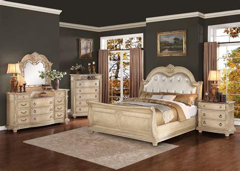 homelegance palace ii upholstered bedroom set antique