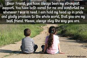 Dear Friend, you have always been my strongest support ...