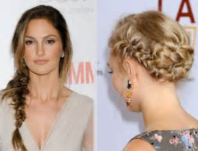 comment se coiffer pour un mariage 30 coiffures pour être dans la tendance tresses femme actuelle