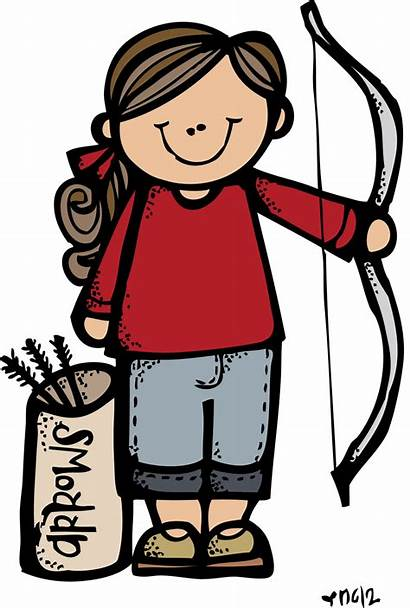 Camp Illustrations Melonheadz Archery Lds Clipart Printable