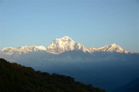 Poon Hill 22 Dhaulagiri Vi, Iv, V, Iii And Ii, Dhaulagiri